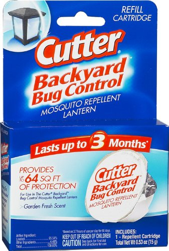 Cutter Backyard Bug Control Mosquito Repellent Lantern Refill (HG 96177)  (Pack Of