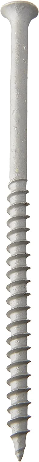 1 Pound Grip-Rite PTN4S1 4-Inch 10 Coarse Thread Exterior Screw with Bugle Head Fоur Paсk