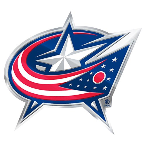 NHL Columbus Blue Jackets Color Auto Emblem, One Size, One Color