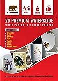Kodiak Supplies A4 Waterslide Decal Paper INKJET