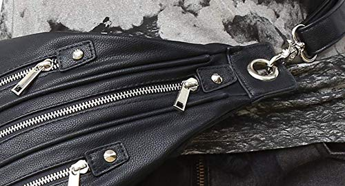 Black1 Steampunk Viaje diseño única negro de Mujer para con Qiu Bandolera Talla Bolso de qvzSxHAg