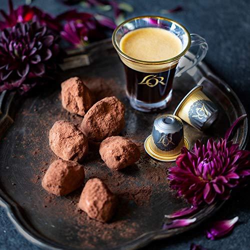 L'OR Espresso Capsules Single Cup Aluminum Coffee Pods Compatible with Nespresso Original Machine, 50 Capsules Variety Pack