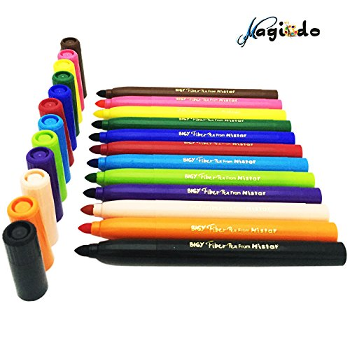 magicdo12cols-washable-markers-super-tip-water-based-markers-classic-colors-watercolor-pen-with-non-