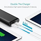 Anker PowerCore 20100 - Ultra High Capacity Power Bank with Most Powerful 4.8A Output, PowerIQ Technology for iPhone, iPad and Samsung Galaxy and More (Black) Bild 4