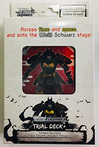 Bushiroad Weiss Schwarz: Trial Deck Plus - Batman - Games Batman Card