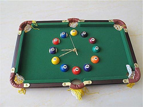 FAN4ZAME Mesa De Billar Reloj De Pared Regalos Personalizados ...