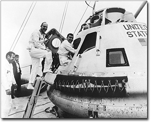 Apollo 13 Crew Lovell, Mattingly & Haise 11x14 Silver Halide Photo -