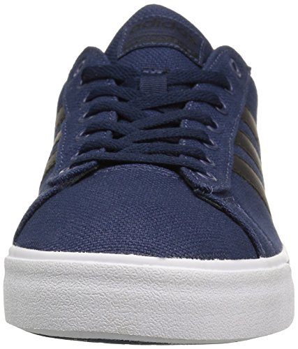 Men's Sneakers Daily adidas Black Cloudfoam Super Fashion White US M Collegiate 7 Navy OqqXd