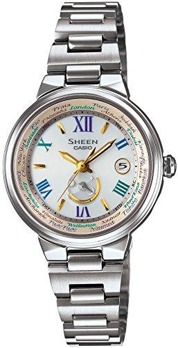 CASIO Watch SHEEN Solar SHW-1509D-7A3JF Womens