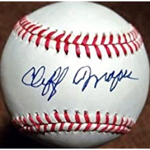 Cliff Mapes Signed Ball - d 1996) ( Browns Tigers Oal - PSA/DNA Certified - Autographed Baseballs