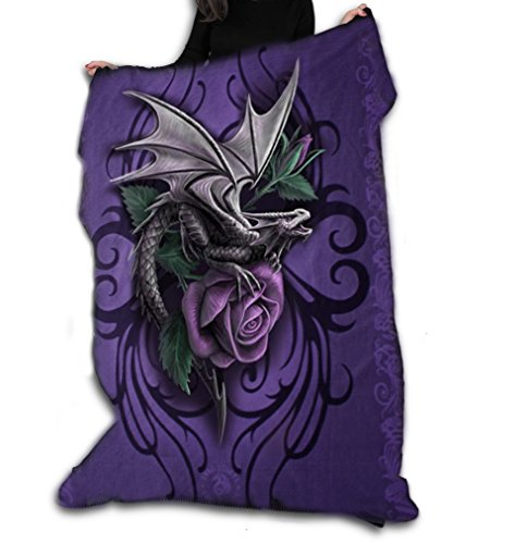 DRAGON BEAUTY Polar Fleece Blanket / Throw 47