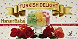 Hazerbaba Turkish Delight with Rose, Lemon & Mint – 1lb