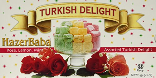 Hazerbaba Turkish Delight Rose Lemon