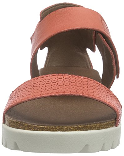 camel active Sicilia 73 - Sandalias Mujer Rojo - Rot (corall)
