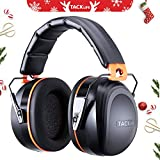Ear Muffs Noise Cancelling Tacklife Shooter Hearing Protection Ear Muffs, Folding-Padded Head Band Ear Cups, SNR 34dB Professional Ear Defenders | HNRE1
