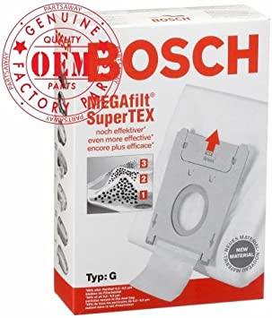 Amazon.com: Bosch parte # 462544 – Tipo G Megafilt Supertex ...