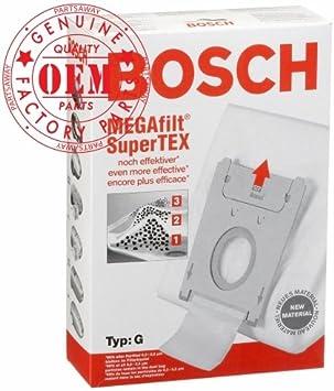 Amazon.com: Bosch parte # 462544 – Tipo G Megafilt Supertex ...
