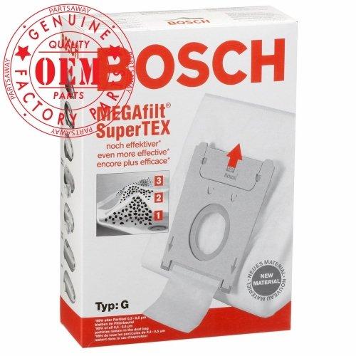 Bosch Parte # 462544 - Original Tipo G MegaFilt SuperTEX Bolsas de ...