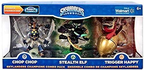 Skylanders Imaginators Champions Combo Pack (Chop Chop, Stealth Elf, and Trigger Happy)