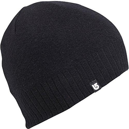 Burton Wool Liner Beanie True Black, One Size (Burton Mens Beanie)