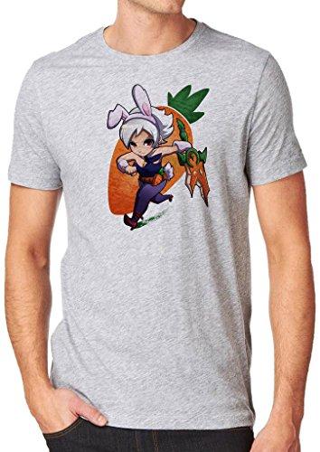 League of Legends Chibi Riven Shirt Custom Made T-shirt (XL)