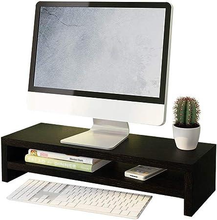 XD Panda Soporte para Monitor TV PC Computadora portátil Elevador de Pantalla Escritorio Almacenamiento Elevador de sobremesa de 2 Niveles con Almacenamiento de Teclado-Capacidad de Carga de 50 KG-In: Amazon.es: Hogar