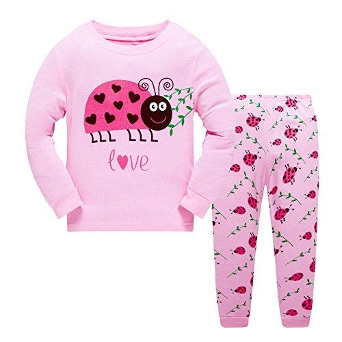 Popshion Toddler Ladybug Girls Pajamas 2...