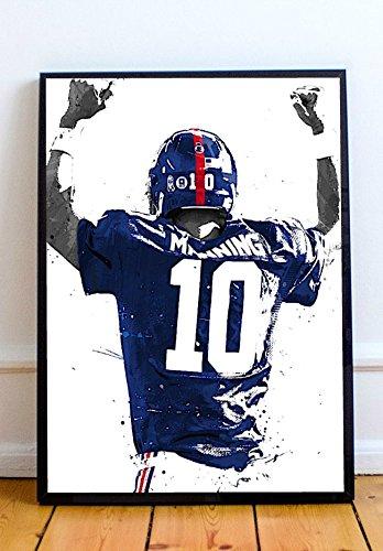 6a81b0de523 Amazon.com: Eli Manning Limited Poster Artwork - Professional Wall ...