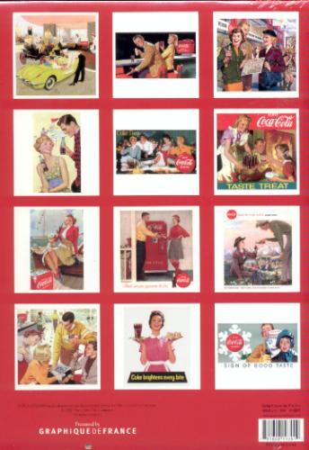 Coca-Cola 2008 Calendar: A Collection of Vintage Advertisements (Multilingual Edition)