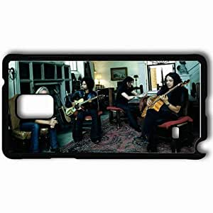Personalized Samsung Note 4 Cell phone Case/Cover Skin Alice In Chains Room Guitars Play Table Black