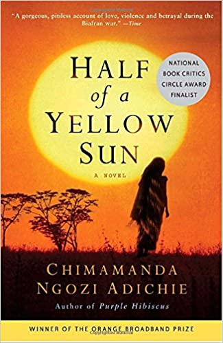 Image result for half of a yellow sun book