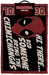 Deadpool Fußmatte, Mehrfarbig, 40x 60cm