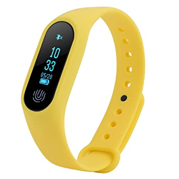 Zerone Fitness Tracker Bluetooth Activity pulsera, Smart Pulsera ...
