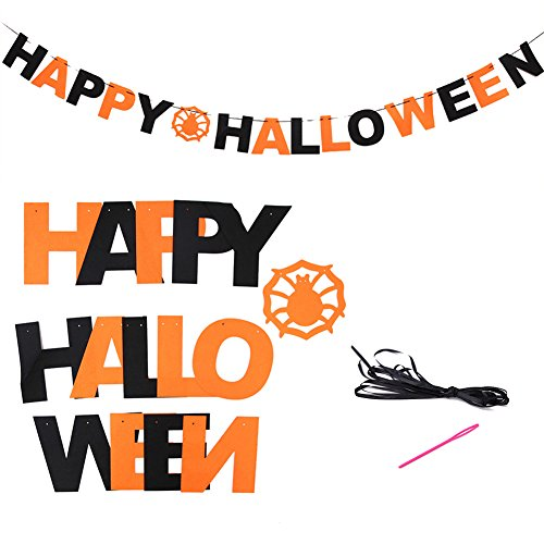 Woya Halloween Hanging Holiday Party Decoration Ornaments DIY Pull The Flag