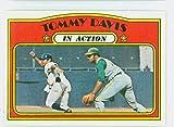 1972 Topps Baseball 42 Tommy Davis IA Oakland Athletics Near-Mint
