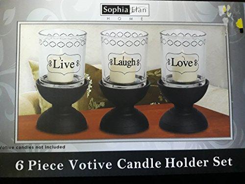 6 Piece Candle Votive - 4