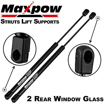 2 Qty StrongArm 4365 Rear Window Glass Lift Supports Struts Shocks Springs NEW