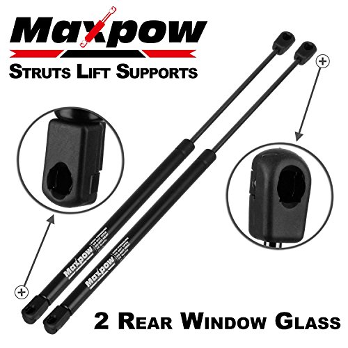 - Maxpow 2pcs Rear Window Gas Charged Lift Support Compatible With Jeep Liberty 2002-2007 4365