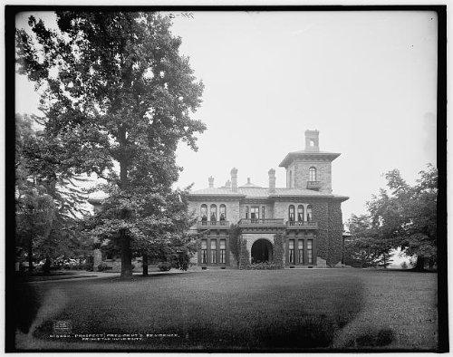 Photo: Prospect,president's residence,dwellings,housing,Princeton University,NJ,c1903