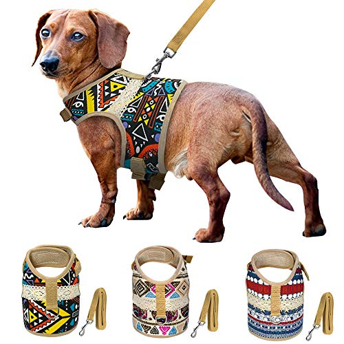 Muttitude Dog Harness & Leash Set for Small Breeds, used for sale  Delivered anywhere in USA