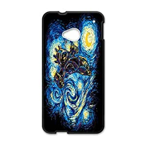 Cell Phone case Vincent Van Gogh Starry Night Cover Custom Case For HTC One M7 MK8Q902261