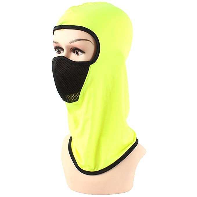 e05c8768cf17b Joymee Full Face Mask Hat Cover Cap Beanie Breathable Thin Outdoor Cool  Skin New  Amazon.ca  Clothing   Accessories