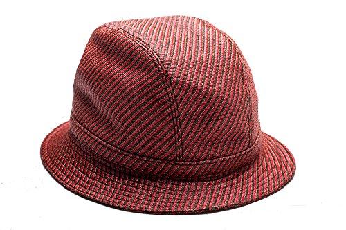 Prada Men's Polyester Cotton Blend Woven Bucket Hat - Mens Prada Hat