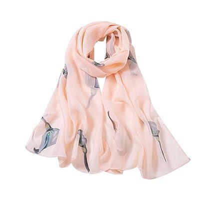 234ddc53e4 Vovotrade Foulard Femmes Printemps et en été Foulard en Mousseline Style  Sauvage Plage Sauvage Serviette Cape