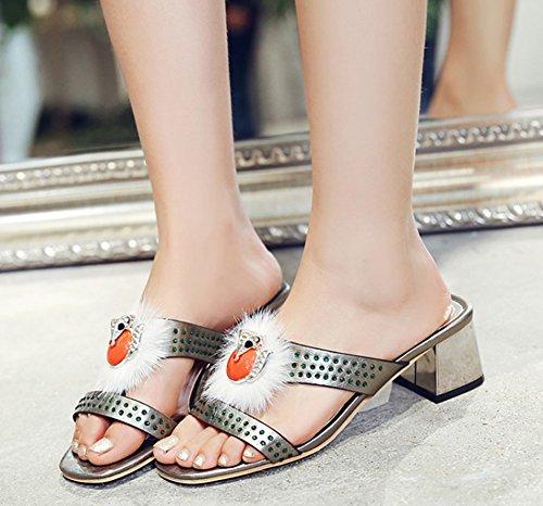 Femme Mode Bout Aisun Ouvert D 40Rxdqnpd6