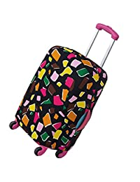 Scorpiuse Travel Luggage Cover Stretch Spandex Suitcase Protector Fits 18-28 Inch