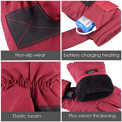 Yunt Electric Heated Gloves,Waterproof Touch Screen Heating Gloves by Yunt (Image #3)