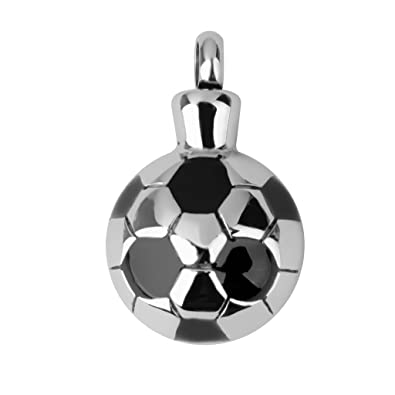 Balón De Fútbol Cremación Colgante De Joyería Cenizas De Recuerdo ...