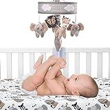 Lambs & Ivy Jungle Safari Musical Baby Crib Mobile