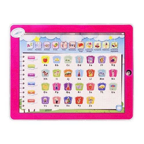 Y-pad English Computer Tablet Learning Education Machine Toy (Pink) - 1